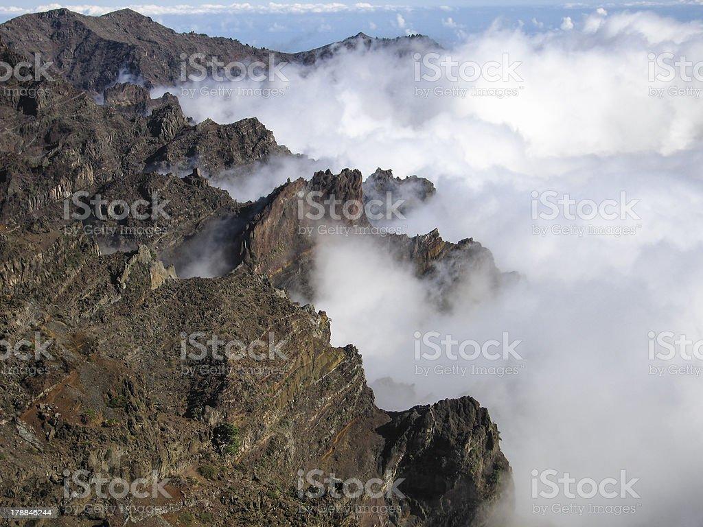 la palma  Canary Islands royalty-free stock photo