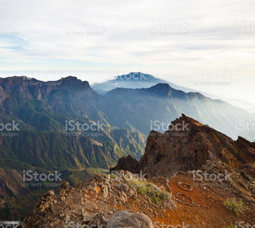 La Palma Mountains stock photo