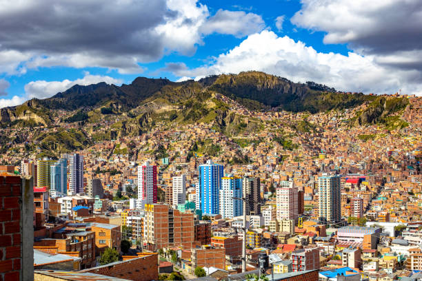 玻利維亞拉巴斯市 - 玻利維亞 個照片及圖片檔