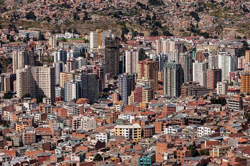 La Paz in Bolivia - South America