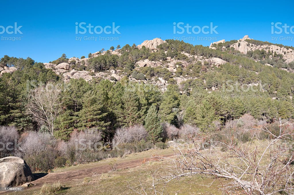La Pedriza stock photo