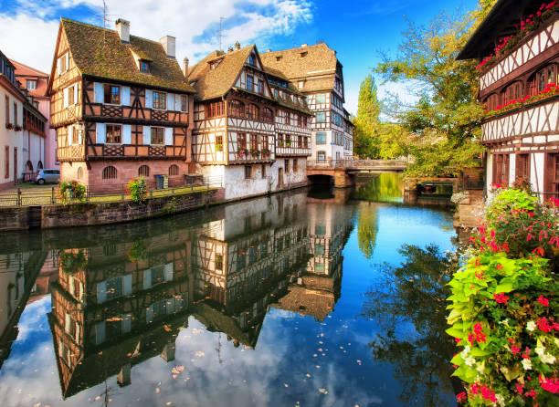 La Petite France, Strasbourg, France stock photo