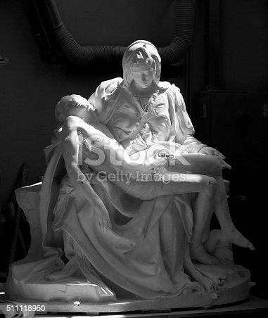 istock La Pieta by michelangelo in plaster. 511118950