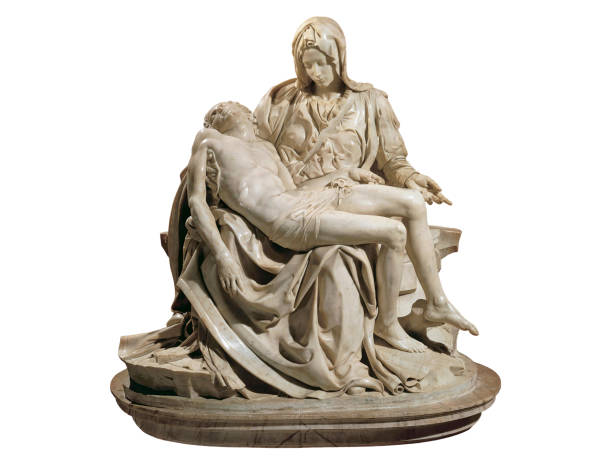 La Pieta Saint Peter Basilica Vatican stock photo