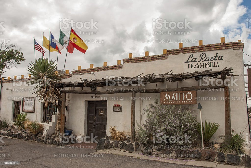 La Posta in Old Mesilla royalty-free stock photo