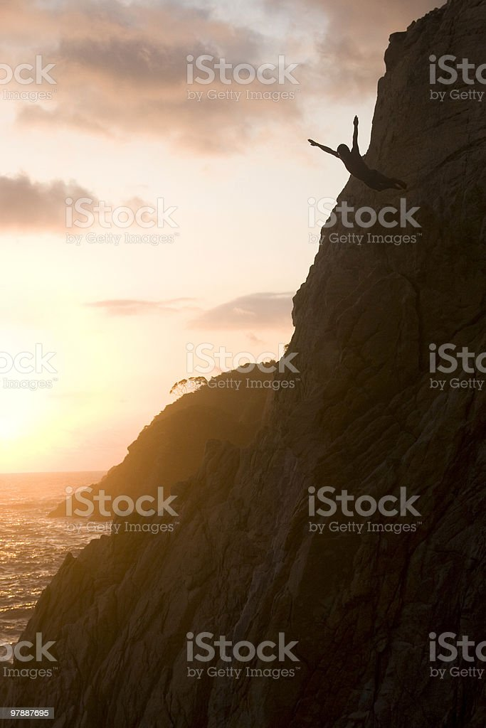 La Quebrada, Acapulco stock photo