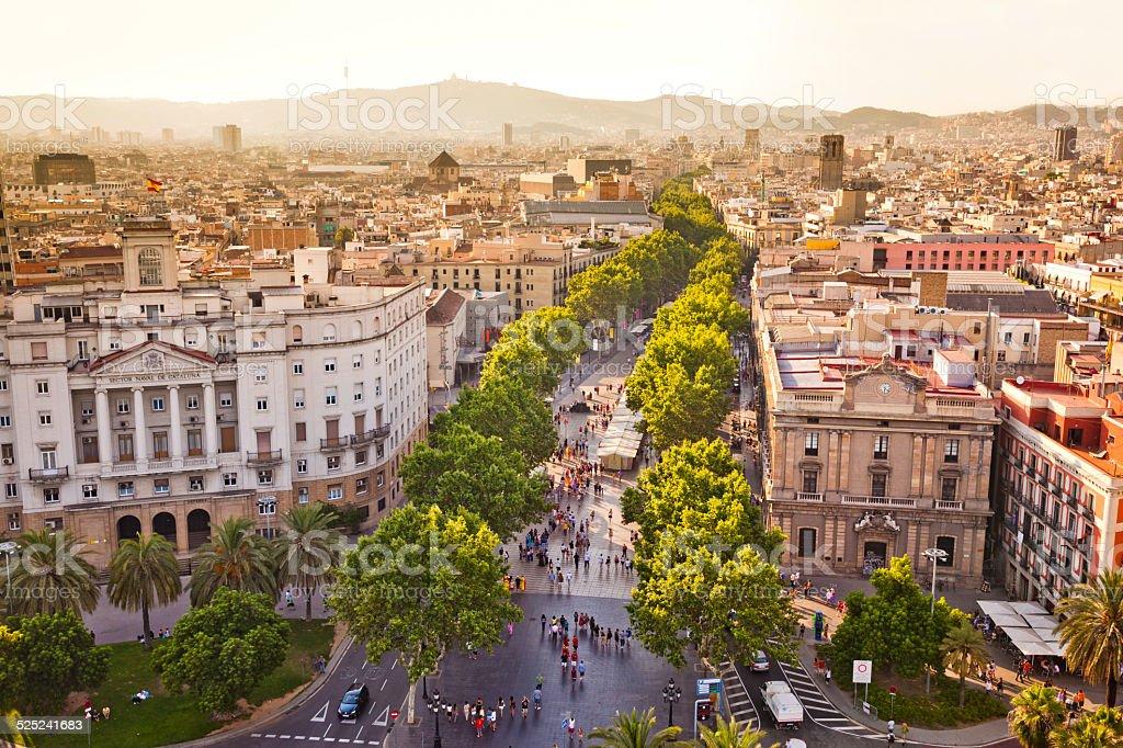 La Rambla in Barcelona – Foto
