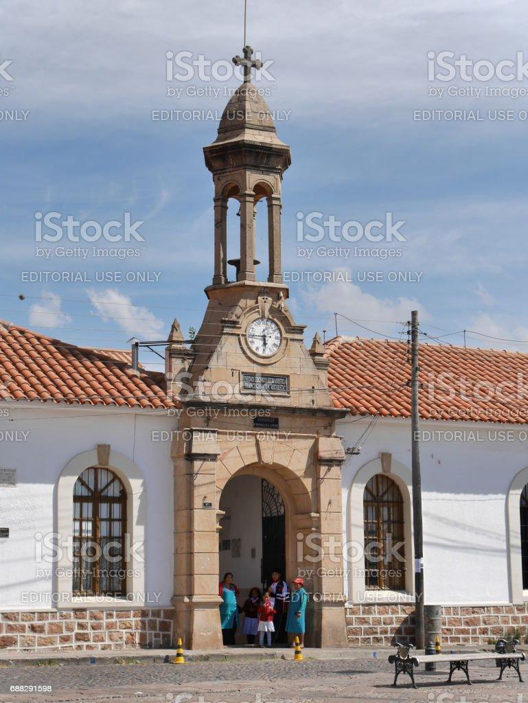 La Recoleta Museum stock photo