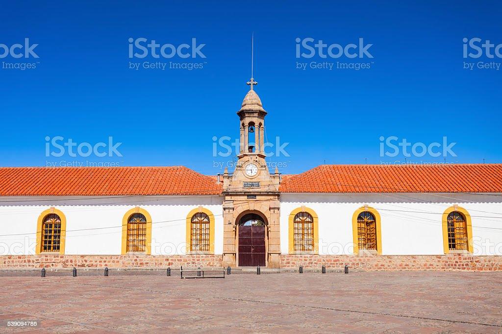 La Recoleta, Sucre stock photo