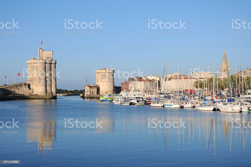 La Rochelle stock photo