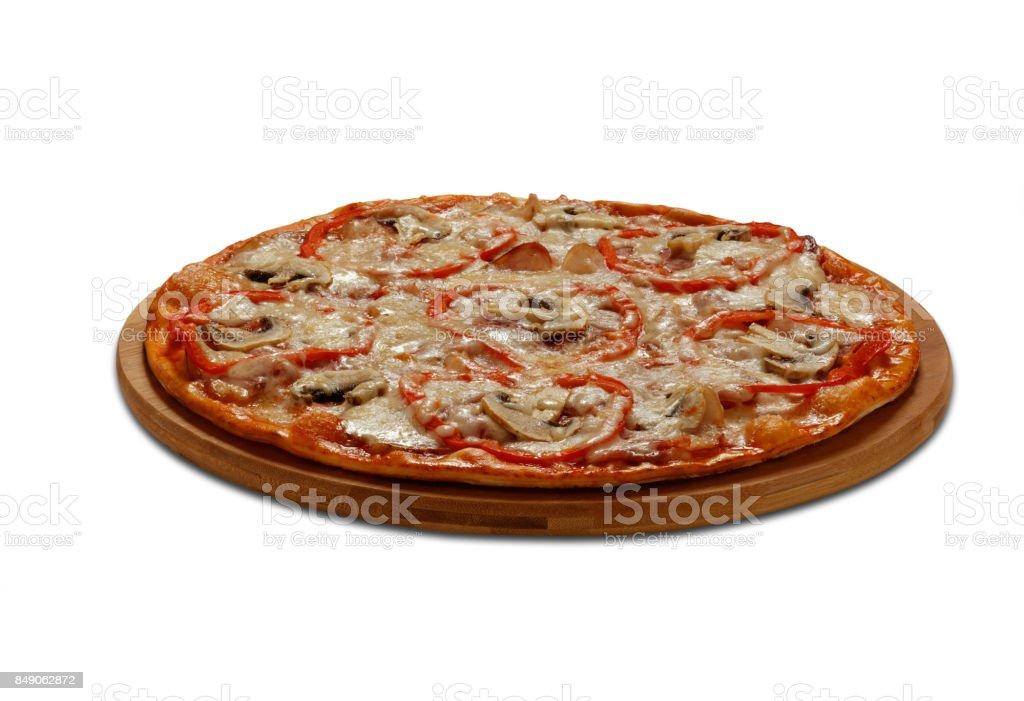 La Roma pizza stock photo