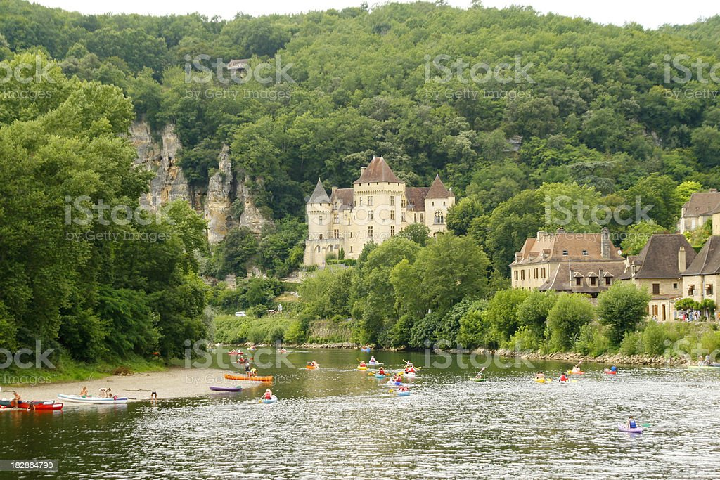 La Roque Gageac royalty-free stock photo