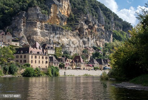 istock La Roque-Gageac scenic village on the Dordogne river, France 1307374681