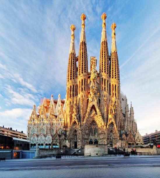 La Sagrada Familia - Barcelona, Spanien. – Foto