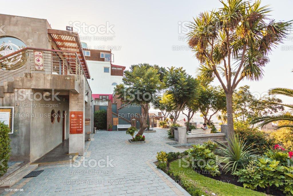 La Sebastiana The House Of Poet Pablo Neruda Valparaiso Chile Fotografie Stock E Altre Immagini Di Ambientazione Esterna Istock