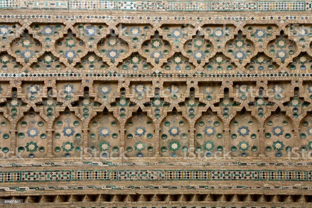La Seo, Zaragoza, Spain royalty-free stock photo