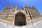 La Seu, Cathedral of Palma, Palma de Mallorca, Majorca, Spain