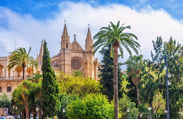 La Seu - Cathedral Palma de Mallorca stock photo