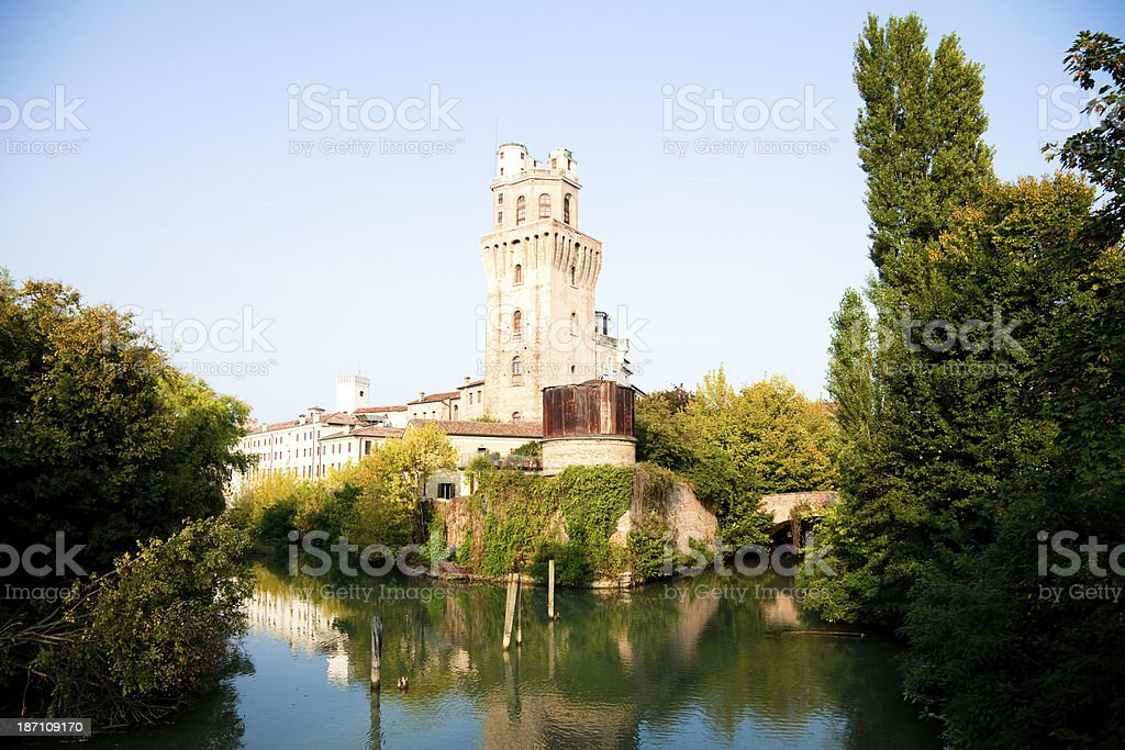 la Specola, old astronomical observatory in Padua stock photo