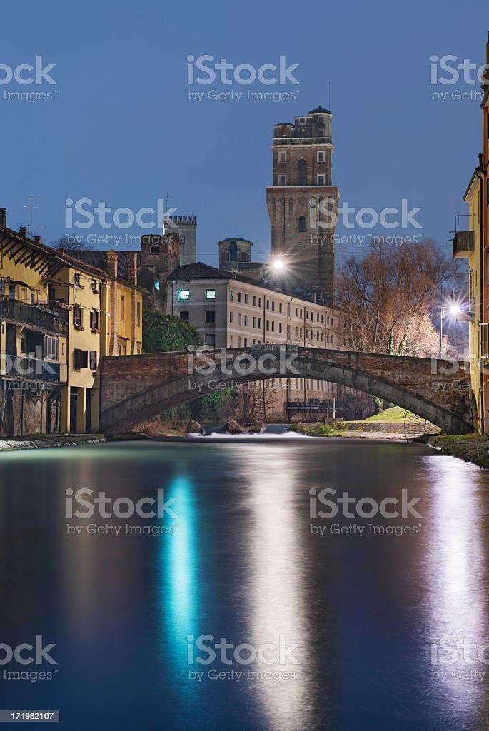 La Specola (Padova - Italy) stock photo