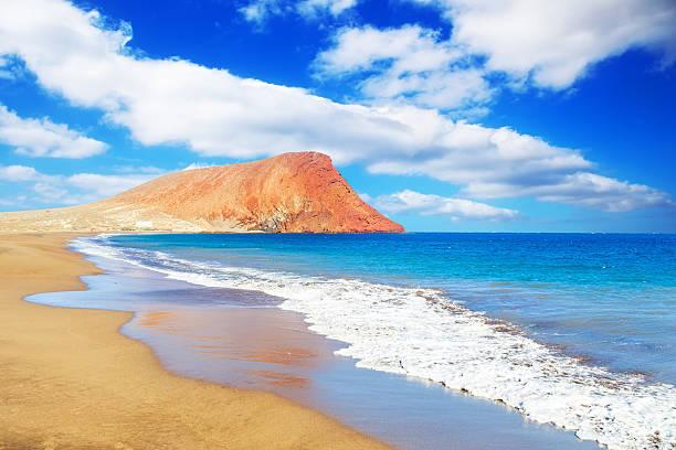 Tejita La playa, Tenerife - foto de stock