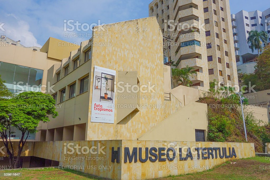 Museo La Tertulia stock photo