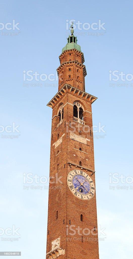 La torre Bissara in Vicenza, Veneto Italy royalty-free stock photo