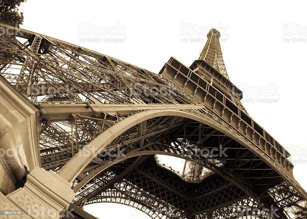 La Tour Eiffel royalty-free stock photo