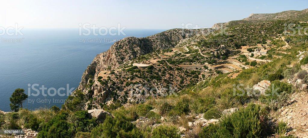La Trapa on Ruta de Pedra en Seco, Mallorca, Spain stock photo