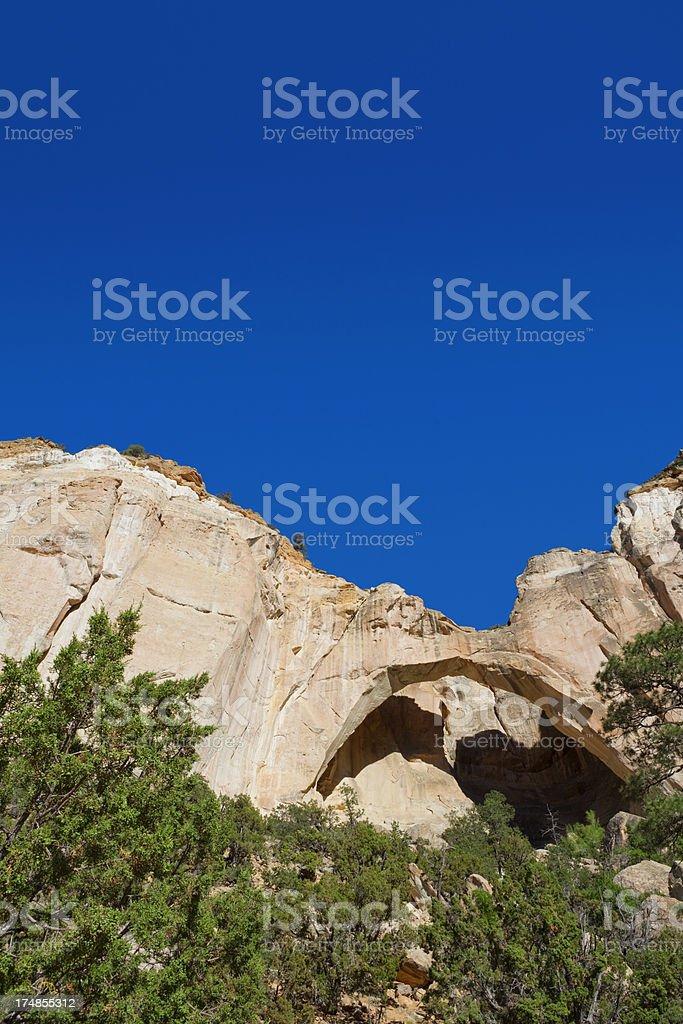 La Ventana Arch - El Malpais National Monument stock photo