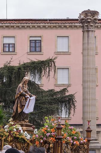 La Veronica. Procession Holy Friday. Leon, Spain.