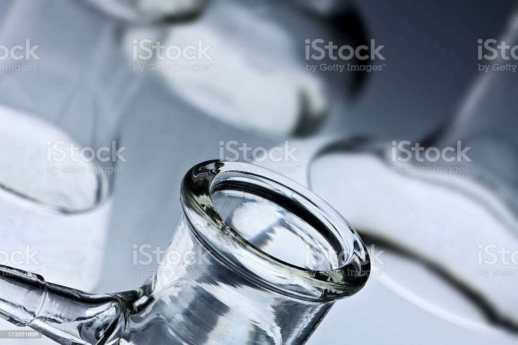 Lab glass royalty-free stock photo