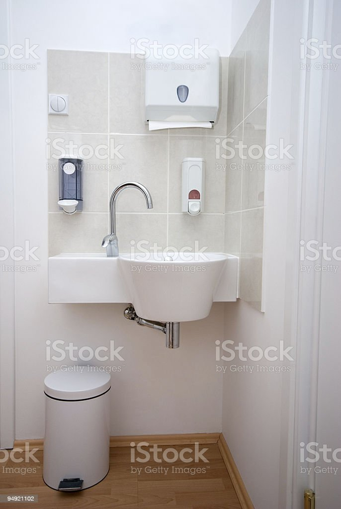 Lab sink royalty-free stock photo