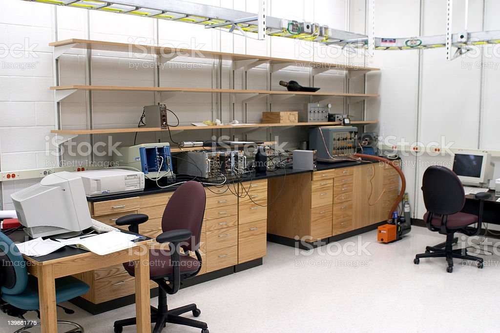 Lab space royalty-free stock photo
