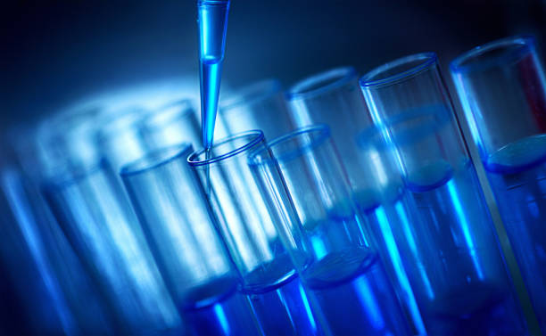 Lab testing. stock photo