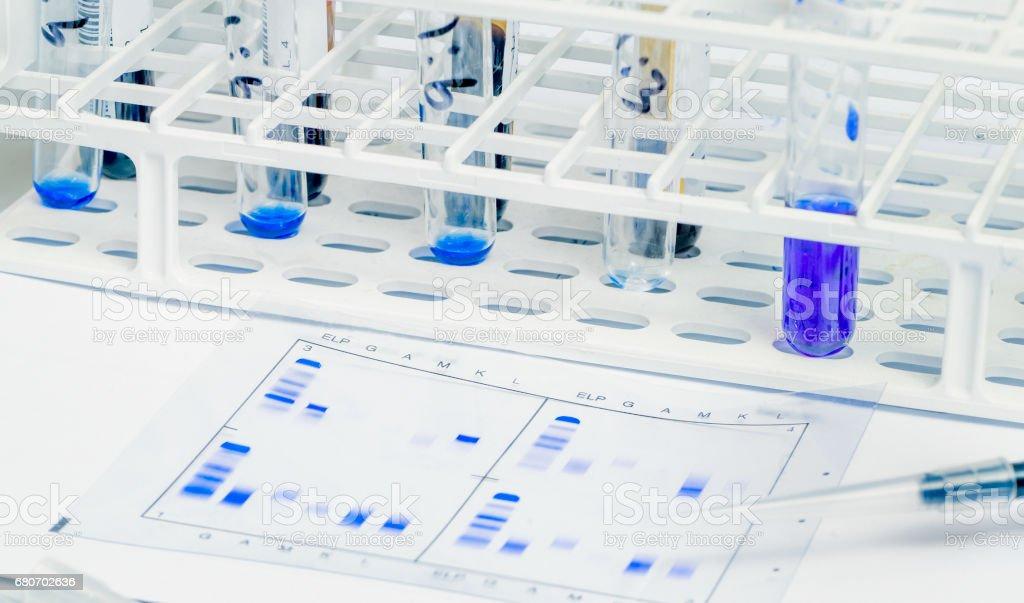 DNA Lab testing stock photo