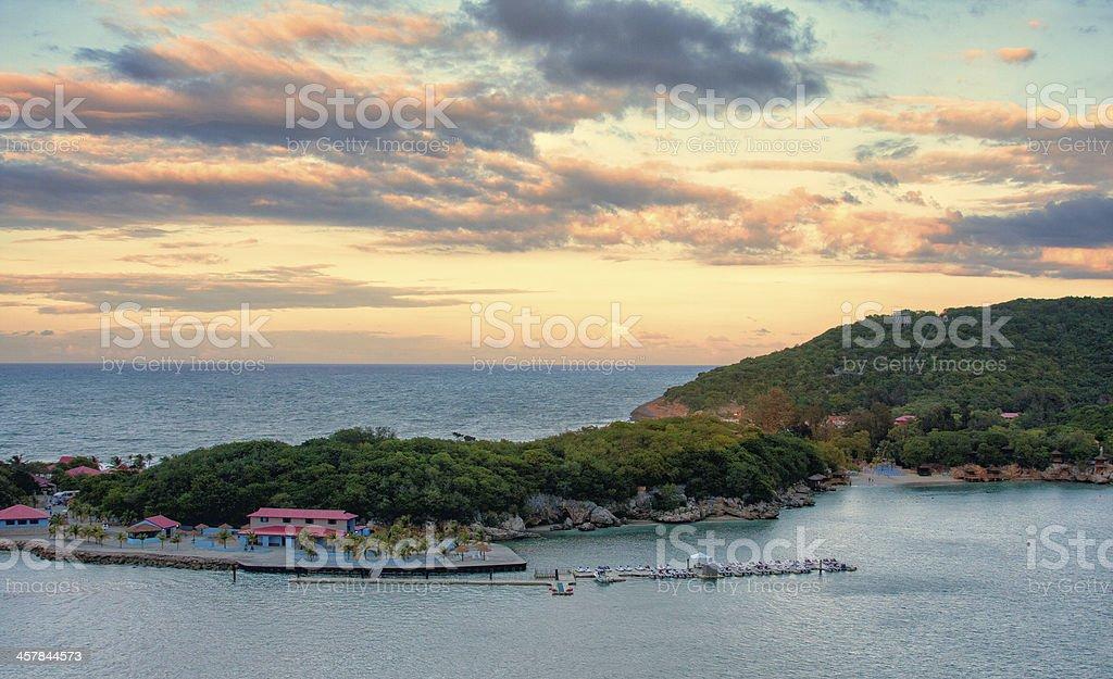 Labadee, Haiti stock photo