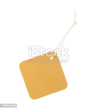 istock Label on white background 453624495