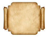 istock Label shape old paper 175715188