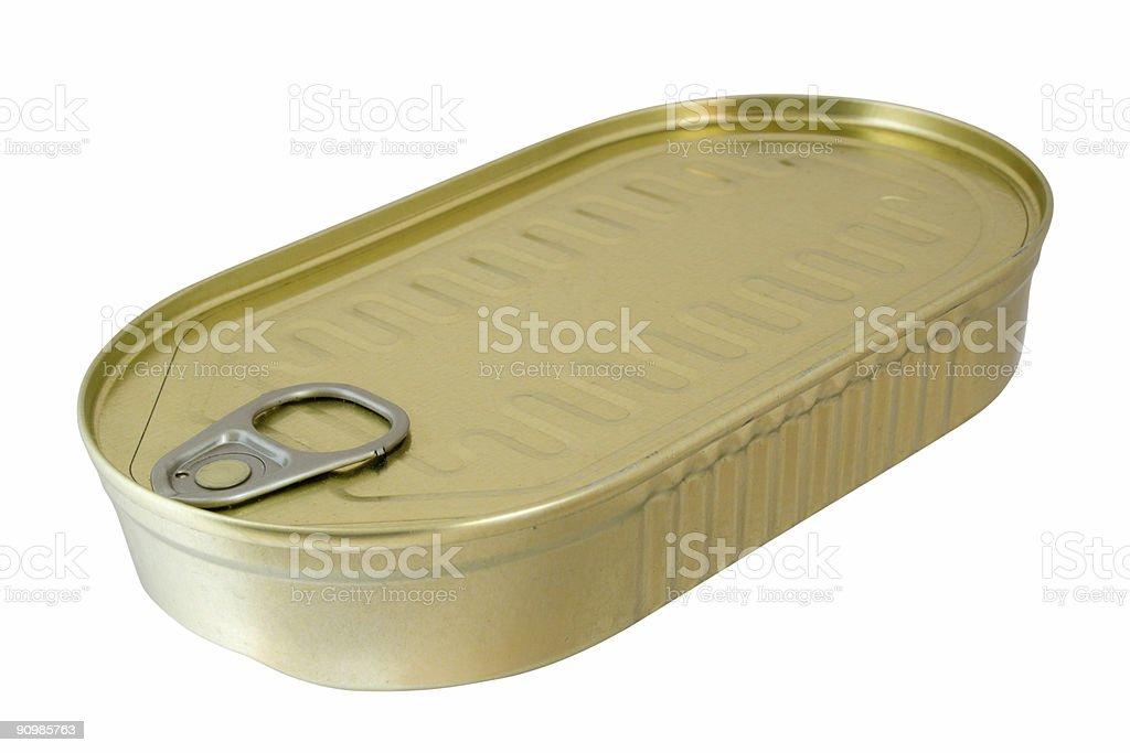 labelless tin stock photo