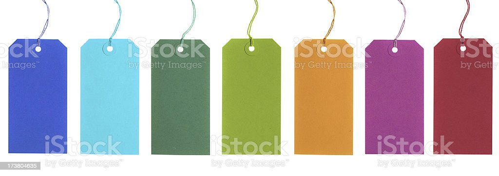 labels stock photo