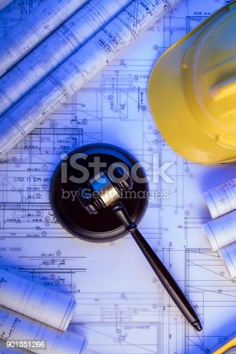 901351330istockphoto Labor and construction law. 901351266