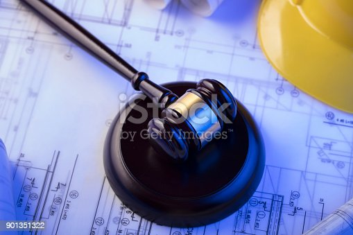 901351330istockphoto Labor and construction law. 901351322