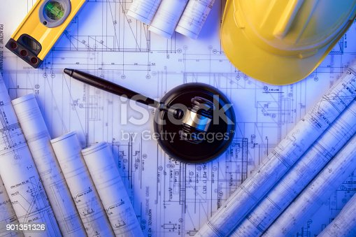 901351330istockphoto Labor and construction law. 901351326