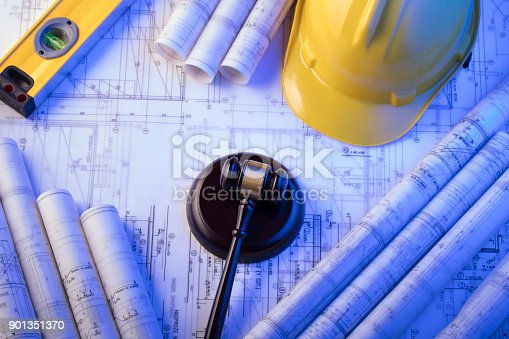 901351330istockphoto Labor and construction law. 901351370