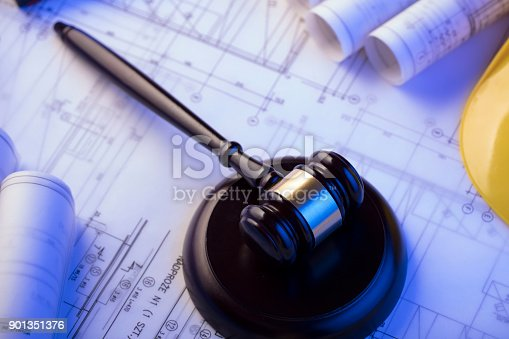 901351330istockphoto Labor and construction law. 901351376
