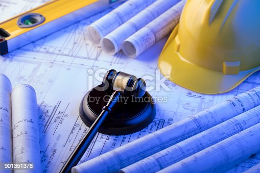 901351330istockphoto Labor and construction law. 901351378