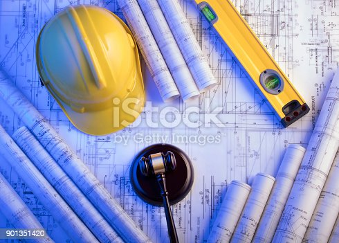 901351330istockphoto Labor and construction law. 901351420