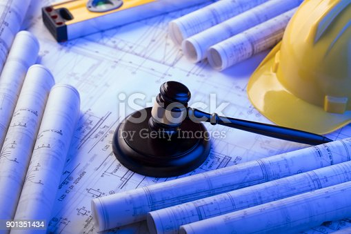901351330istockphoto Labor and construction law. 901351434