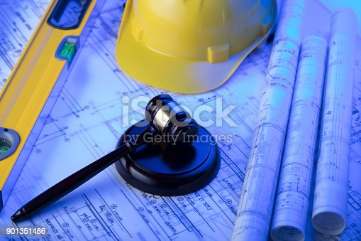 901351330istockphoto Labor and construction law. 901351486